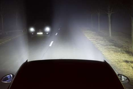 Eye-Tracking Car Headlights - The Vauxhall/Opel Smart Headlights Aim At Where The Driver is Looking