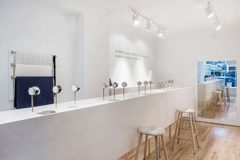 Upscale Watch Boutiques - The New London Larsson & Jennings Location Boasts an In-Store Fika Bar