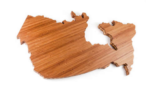 Canadian Cheese Platters - These Handmade Boards are Shaped Like Different Canadian Provinces