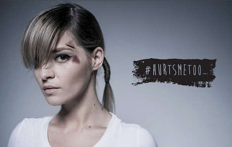 Eye-Opening Tattoo Campaigns - ACG Advertising Agency Raises Awareness Of Violence Against Women