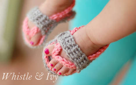 20 Adorable Baby Footwear Innovations - From DIY Baby Shoes to Miniature Infant Moccasins