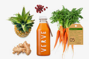 Verve Juices Has a New Look for Its Line of Healthy Cleansing Drinks