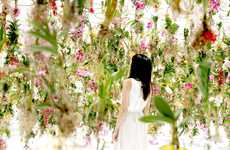 Interactive Garden Installations - TeamLab's Latest Art Project is Made From 2300 Flowers