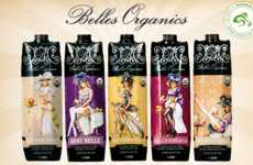 Craft Cocktail Cartons - Belles Organics Delivers Fresh Flavor in a Pre-Packaged Format