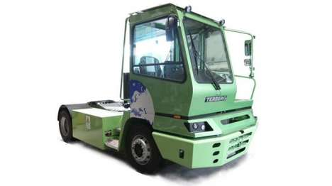 All-Electric Trucks - The Terberg Type YT202-EV Electric Truck is Being Tested By BMW