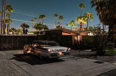 Tom Blachford's Midnight Modern Series Captures Palm Springs