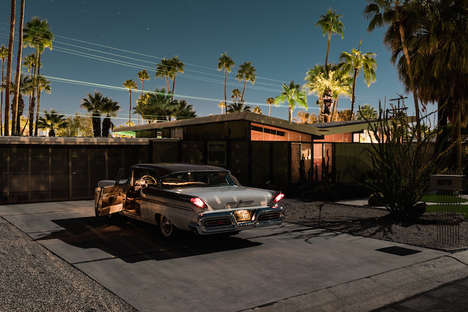 Vintage Californian Photography - Tom Blachford's Midnight Modern Series Captures Palm Springs