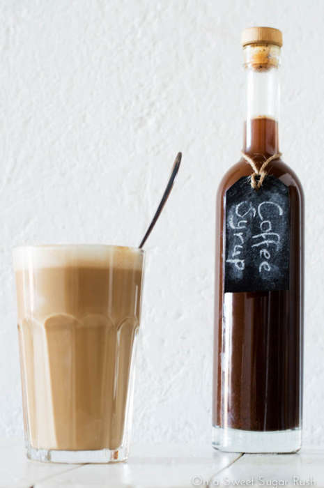 Butternut Coffee Syrups - On a Sweet Sugar Rush's Recipe Uses a Root Vegetable Base & Fall Spices
