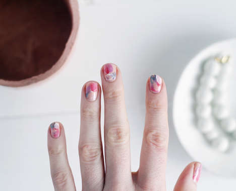 Abstract Art Manicures
