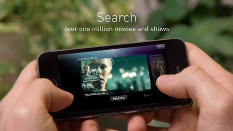 TV Show-Tracking Apps - The Fan TV iPhone App Tracks Shows and Movies Across Online Media Services
