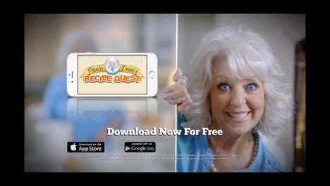 Food Puzzle Apps - Paula Deen's Recipe Quest is Similar to the Iconic Candy Crush Game