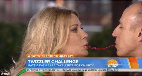 Kissable Cause Marketing - The Twizzler Challenge Hopes to be the Next Ice Bucket Challenge