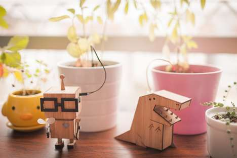 Adorable Plant Monitors - Dickson Chow's Plant Friends System Helps You To Take Care of Your Plants