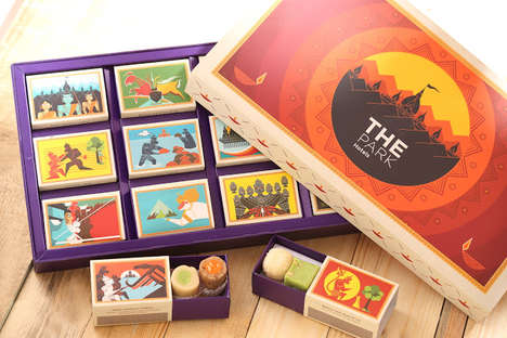 Diwali Candy Boxes - The Park Hotels' Diwali Gift for Guests Pays Tribute to the Hindu God Rama
