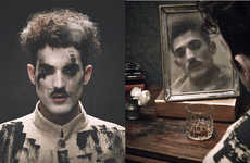 ODDA Magazine's Decades Issue is an Homage to Charlie Chaplin Style