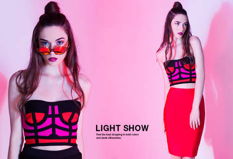 Rebellious Party Girl Fashion - Akira's Latest Lookbook Boasts VIbrant Garments and Accessories
