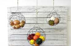 These Hanging Wire Baskets Save Space While Looking Chic