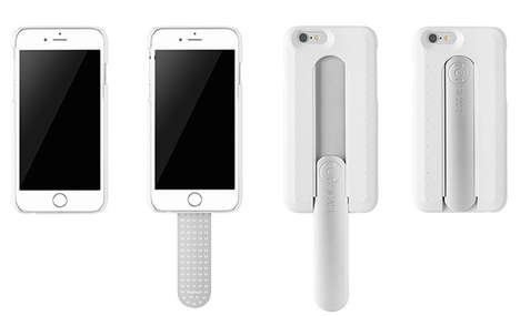 Popsicle Handset Protectors - A Stick Phone Holder Makes Gripping Your Mobile Easier for All Tasks