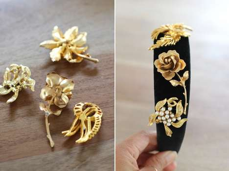 DIY Designer Headbands - Honestly WTF's Stylish Tutorial is Inspired by Dolce & Gabbana
