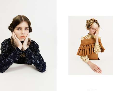 Whimsical Dress-Up Editorials