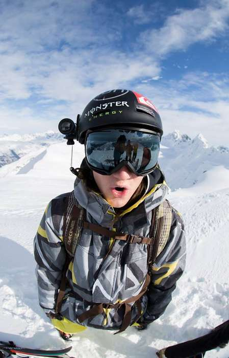 Helmet-Mounted WiFi - The iON Air Pro 3 Wearable WiFi Camera is Perfect for Adventure Travel