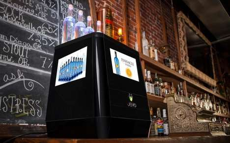 Gelatin Shot Machines - Jevo is a Device That Prepares Jell-O Style Shots at a Bar