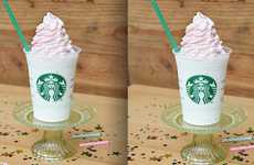 Celebratory Frozen Coffees - The Birthday Cake Frappuccino From Starbucks is Only Here for 5 Days