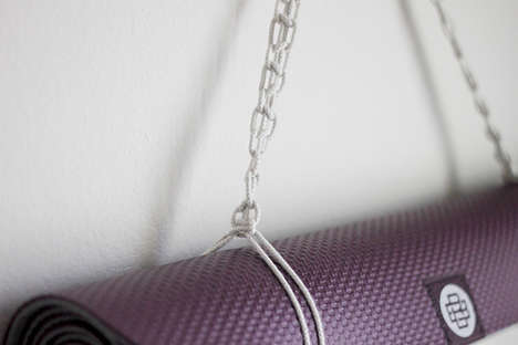 DIY Mat Straps - This Creative Macramé Yoga Mat Strap Can Be Easily Made By Yourself at Home