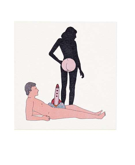 Saucily Surreal Illustrations - Marion Fayolle Creates Erotic Images That Are Brilliantly Absurd