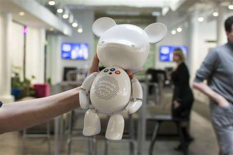 Teddy Bear Speakers - SpotiBear is a 3D-Printed Toy Speaker That Plays Spotify Music