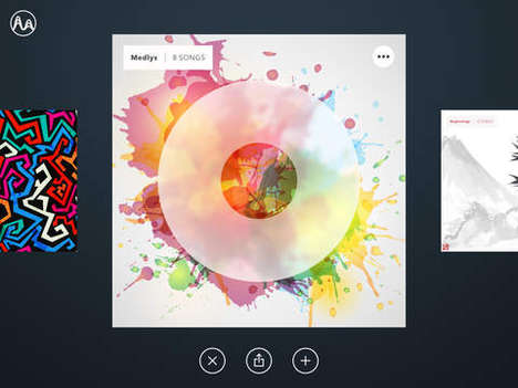 Artistic Composing Apps - Medly Facilitates Song Creation Through Tapping and Drawing