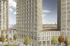 These Swedish Apartment Blocks Will Be Constructed From Wood
