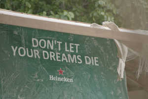 "Heineken Encourages You to ""Don't Let Your Dreams Die"""