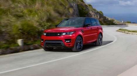 Upgraded British SUVs - The Range Rover Sport HST Offers Improved Handling and a Fresh Look