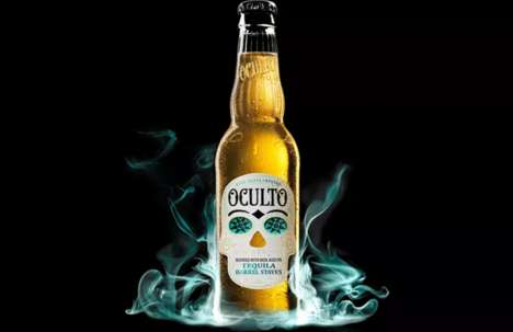 Agave-Infused Beer - Oculto's Tequila Beer Takes Inspiration from an Agave-Based Beverage