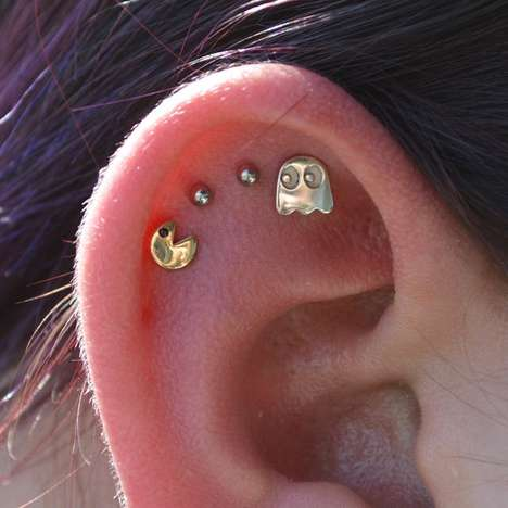 Arcade Game Embellishments - Pacman Earrings Accessorize You with Iconic 80s Entertainment