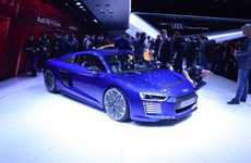 Futuristic Electric Cars - The Audi R8 e-tron is a High-Performance Electric Beast