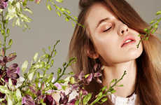 Floral Beauty Editorials