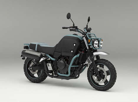Rugged Motorcycle Concepts - The Honda Bulldog Design Moves Away from Traditional Leisure Bikes
