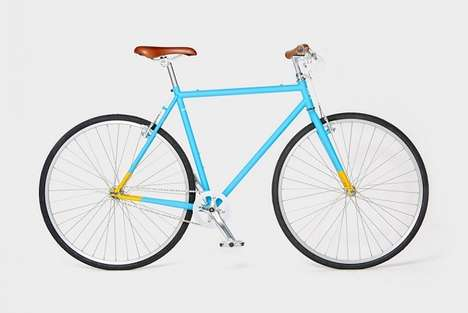 Minimalist Affordable Bikes - The Brilliant Bicycle Cater to Casual Cyclists Who Value Design