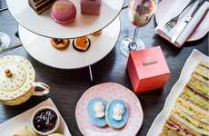French Monarch Tea Experiences - This Afternoon Tea Service is Inspired by Marie Antoinette