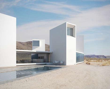 Minimalist California Mansions