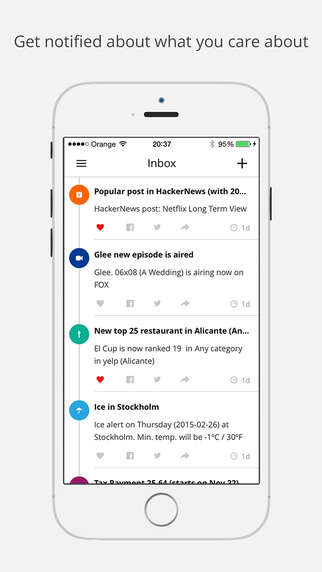 All-Encompassing Update Apps - The Hooks App Lets You Subscribe to Over 1,000,000 Notifications