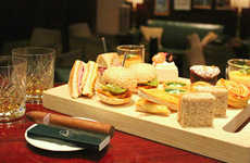 Gentlemanly Tea Experiences - Stafford London's Afternoon Tea is Paired With Whiskey and Cigars