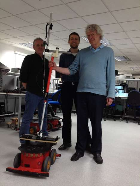 Firefighter-Guiding Robots - This Robot Assistant Will Help Guide Firefighters Through Trouble Areas