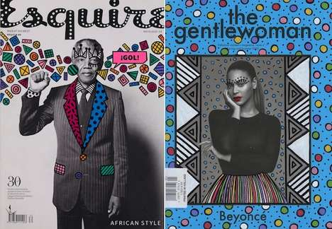 Illustrated Magazine Covers - Ana Strumpf's Custom Cover Art Features Playful Shapes and Hues