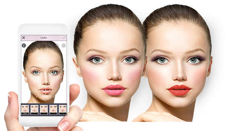 Makeover-Assisting Apps - The YouCam Makeup App is a Virtual Cosmetic Kit