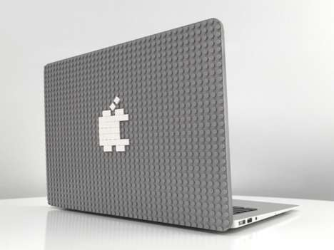 LEGO-Friendly Laptop Protectors - The Brik Case for Macbook is Infinitely Customizable and Playful