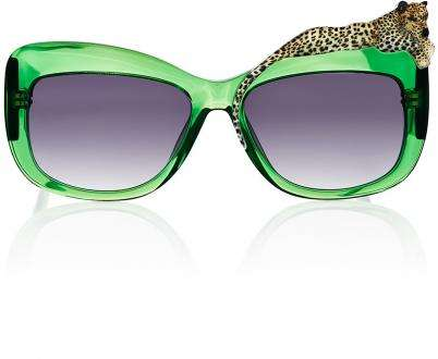 Opulent Jungle Shades - These Anna-Karin Karlsson Sunglasses are Fiercely Bold