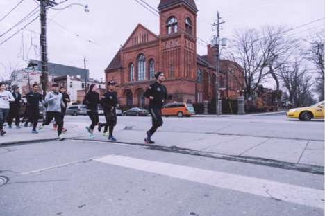 Urban Social Runs - Nike Toronto's City-Celebrating Local Run is Led by a Resident Runner